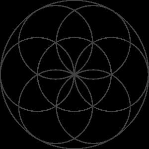 Blume des Lebens Symbol